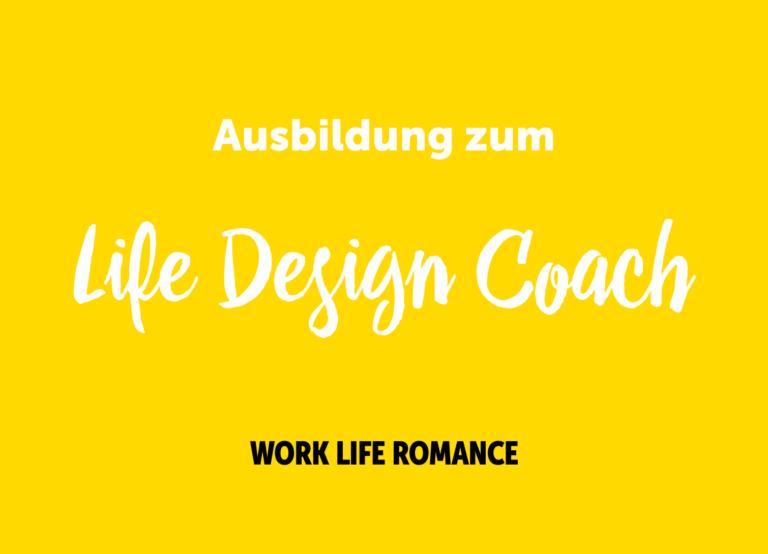 Ausbildung zum Life Design Coach – Frühjahr