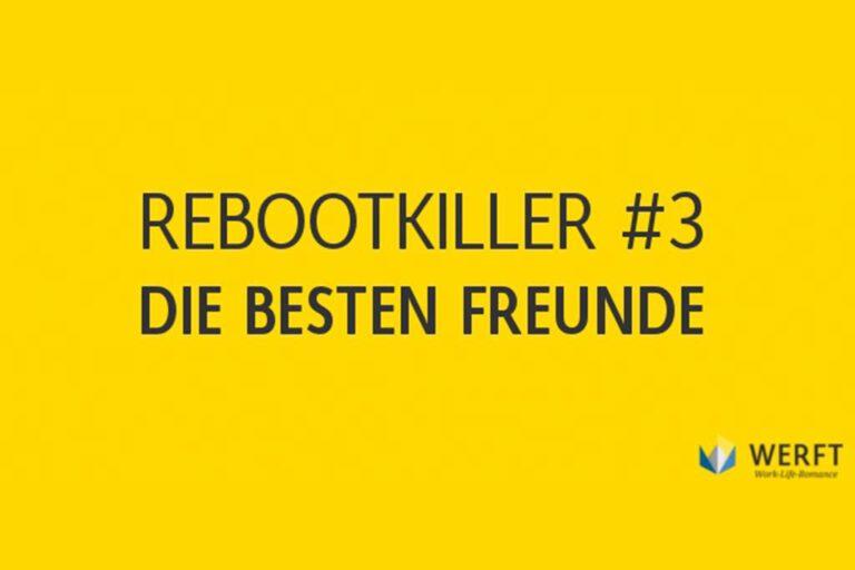 Rebootkiller: Die größten Hindernisse bei der beruflichen Neuorientierung  (Folge 3)