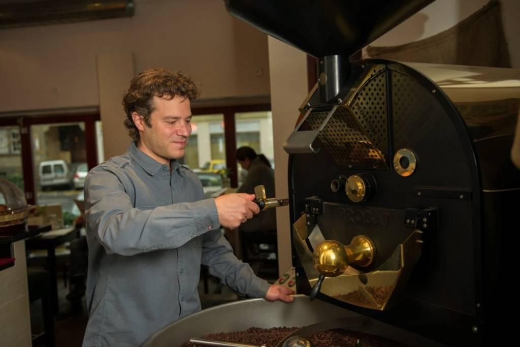 Vom Banker zum Kaffeeröster