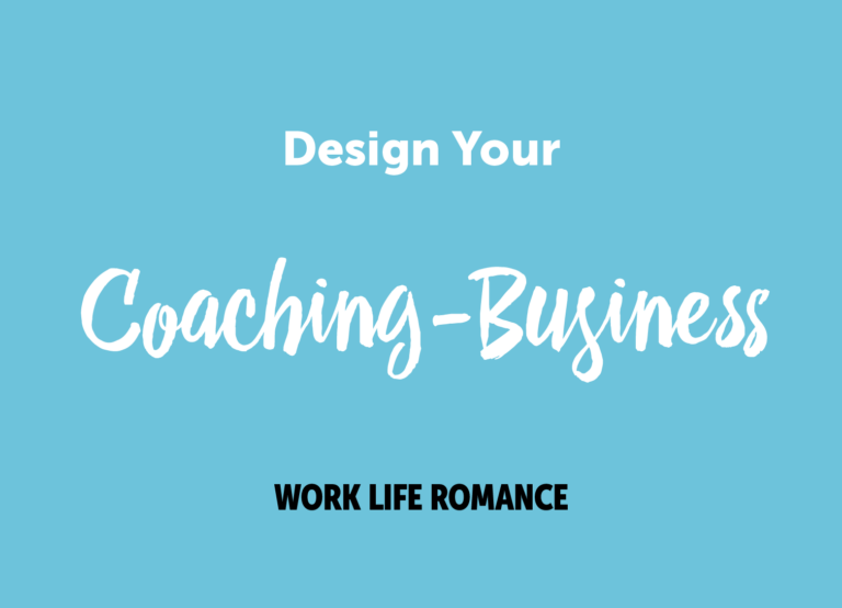 Design Your Coaching-Business