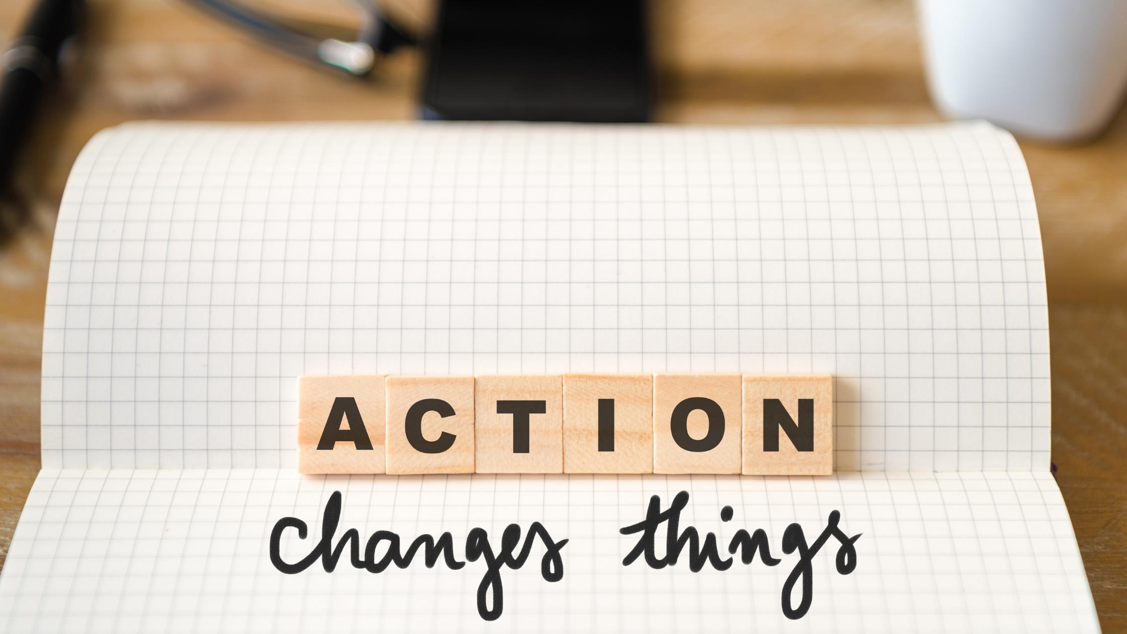 Komm schnell in die Umsetzung: Act first, think later!